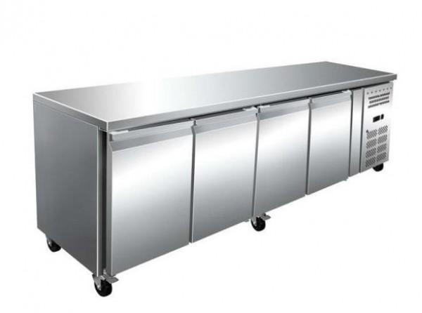 Masa rece, 4 usi, capacitate 616 litri, dimensiuni 2230x700x860mm