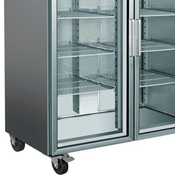 Dulap frigorific, usi din sticla, volum 1476 litri, dimensiuni 1480x830x2010mm