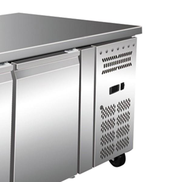 Masa rece, 2 usi si 3 sertare, capacitate 465 litri, dimensiuni 1795x700x860mm
