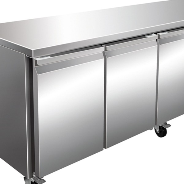Masa de congelare, 4 usi, capacitate 616 litri, dimensiuni 2230x700x860mm