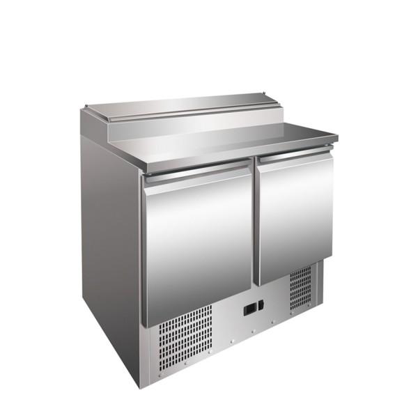 Saladeta refrigerata, capacitate 257 litri, inox, dimensiuni 900x700x1010hmm