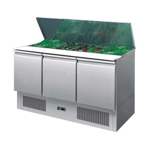 Saladeta, capacitate 400litri, inox, dimensiuni 1365x700x860mm