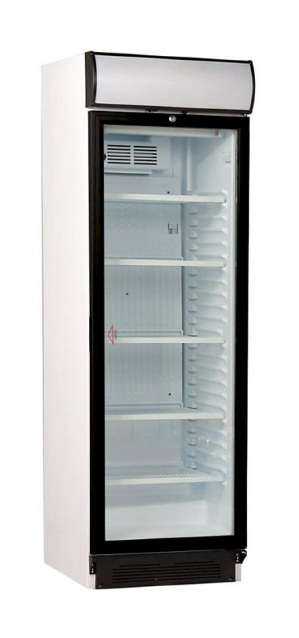 Vitrina verticala de refrigerare, temperatura de  lucru 1°C-10°C, volum 345 litri